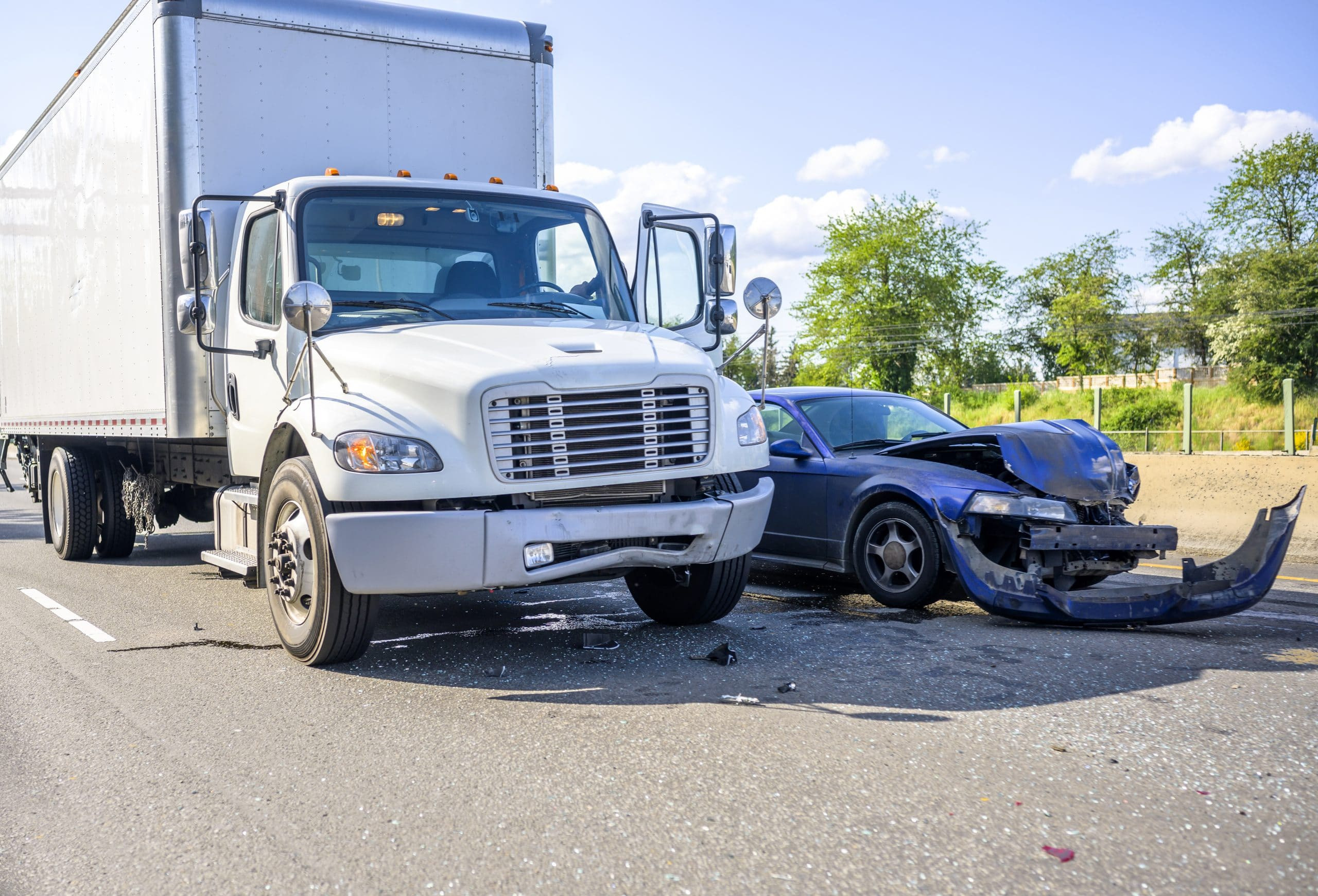 big rig truck accident dangerous